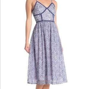 Anthropologie NSR Lace Midi Dress MED NWT
